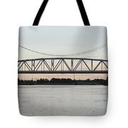 Jackson Street Bridge Tote Bag