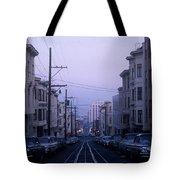 Jackson Street San Francisco Tote Bag