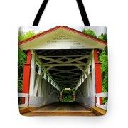 Jackson's Mill Covered Bridge Tote Bag