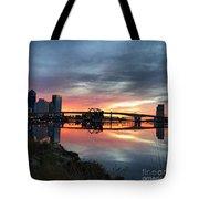 Jacksonville Sunrise Tote Bag