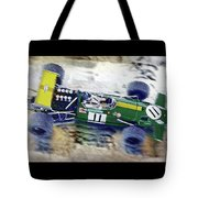 Jacky Ickx - Brabham Bt26 Tote Bag