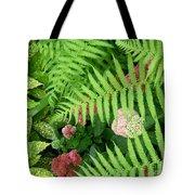 Jacqueline's Garden - Camaraderie Of Textures Tote Bag