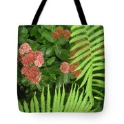 Jacqueline's Garden - Camaraderie Of Textures Too Tote Bag