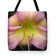 Jacqueline's Garden - Lily Glistening Tote Bag
