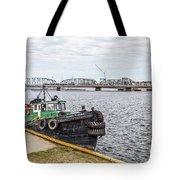 Jacquelyn Nicole Tug Sturgeon Bay Tote Bag