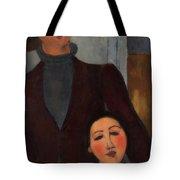 Jacques And Berthe Lipchitz Tote Bag