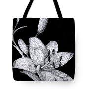 Jacqui's Lily Tote Bag