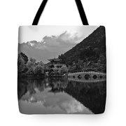 Jade Dragon Snow Mountain Tote Bag