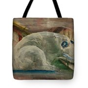 Jade Frog 2 Tote Bag by Gregory Dallum