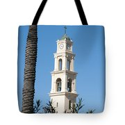 Jaffa, St Peter Church And Monastery Tote Bag