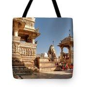 Jagdish Hindu Temple, Udaipur Tote Bag