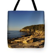 Jagged Coast Of Maine Tote Bag