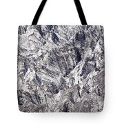 Jagged Glacier Tote Bag