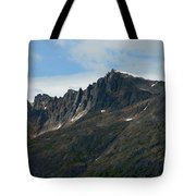 Jagged Mountain Tote Bag