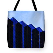 Jagged Sky Scraper Tote Bag
