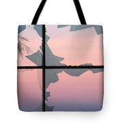 Jagged Twilight Tote Bag