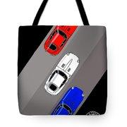 Jaguar E-type - 3 Times The Fun Tote Bag