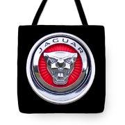 Jaguar Emblem Tote Bag