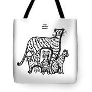 Jaguar Family Tote Bag