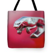 Jaguar Hood Ornament Tote Bag