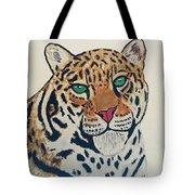 Jaguar Painting Tote Bag