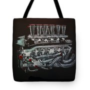 Jaguar V12 Twr Engine Tote Bag