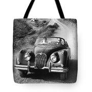 Jaguar Xk 150 Drophead Coupe Tote Bag