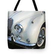Jaguar Xk150 Tote Bag