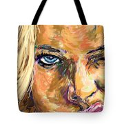 Jaime Pressly Tote Bag