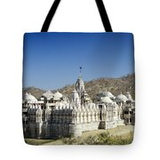 Jain Temple Of Ranakpur Tote Bag