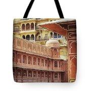 Jaipur City Palace Tote Bag