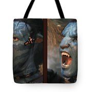 Jake Sully - Gently Cross Your Eyes And Focus On The Middle Image Tote Bag