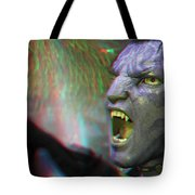 Jake Sully - Sam Worthington - Red-cyan 3d Glasses Required Tote Bag