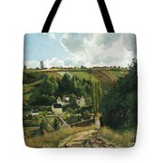 Jalais Hill At Pontoise Tote Bag