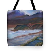 Jalama Beach At Sunset Tote Bag