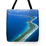 Jaluit Atoll And Lagoon Tote Bag
