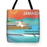 Jamaica Horizontal Scene Tote Bag