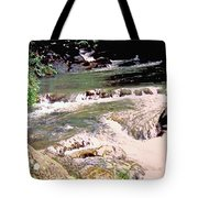 Jamaica Rushing Water Tote Bag