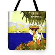 Jamaica, The Gem Of Tropics Tote Bag