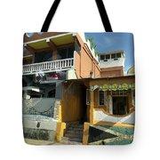 Jamaican Apartments Tote Bag