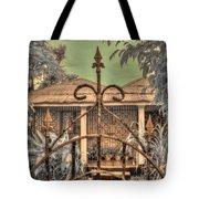 Jamaican Gate Tote Bag by Jane Linders