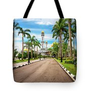 Jame'asr Hassanil Bolkiah Mosque In Brunei Tote Bag