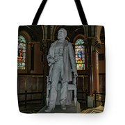 James A. Garfield Statue Tote Bag