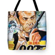 James Bond Dr.no 1962 Tote Bag