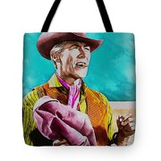 James Coburn Tote Bag
