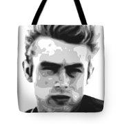 James Dean - Bw Tote Bag