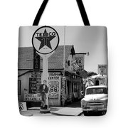 James Dean On Route 66 Tote Bag