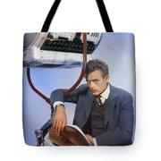 James Dean On Set Tote Bag