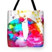 James Dean Watercolor Tote Bag