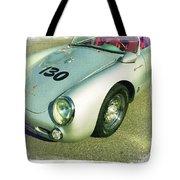 James Dean Porsche Spyder 550 Tote Bag